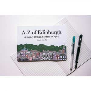 The Red Door Gallery A-Z of Edinburgh Book