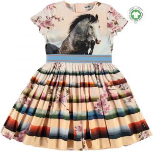 Yoya Molo Candy Graphic Print Dress