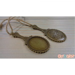 Ambalaz Vintage Bronze Mirror