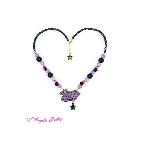 Angelic Pretty Neon Logo Necklace
