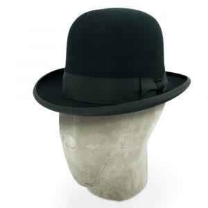 Bates Black Soft Homburg Hat