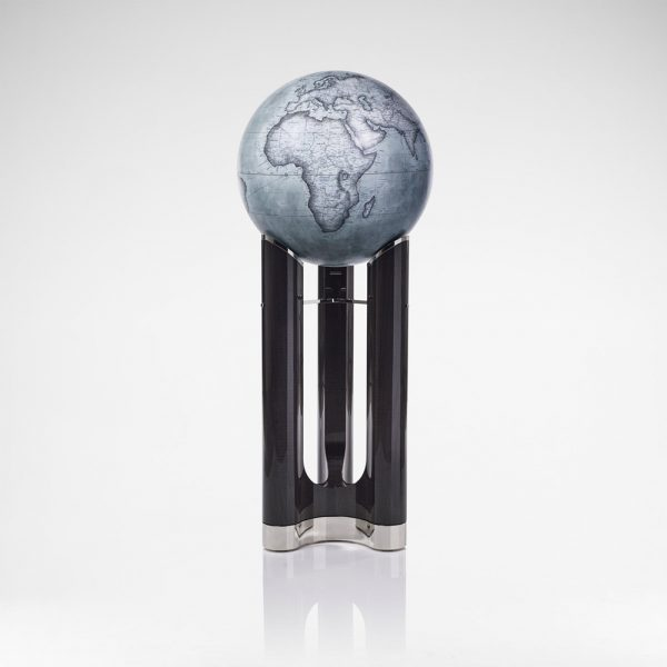 David Linley Tellus Globe - Grey & Charcoal
