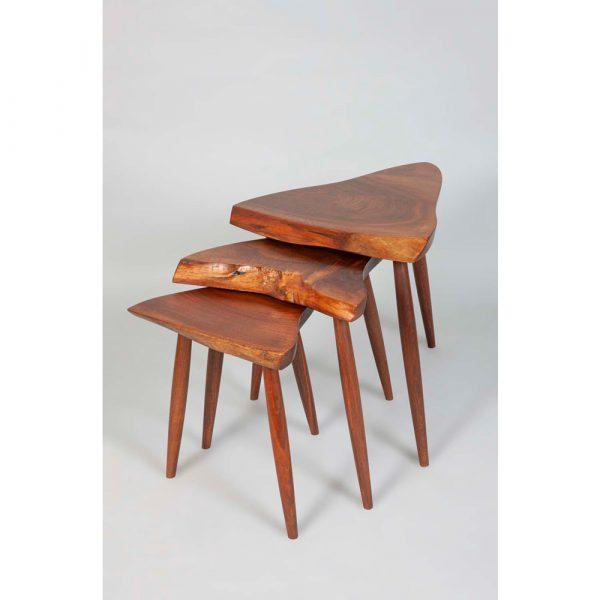 Hemisphere Gallery George Nakashima Walnut Nest Table