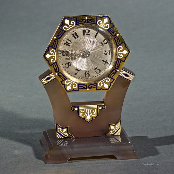 Hoffman Gampetro Antiques Tiffany & Co. Art Deco Clock