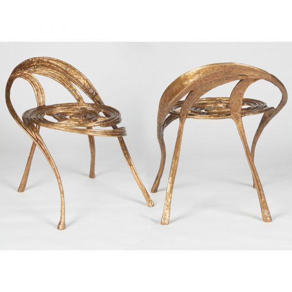Maison Gerard Phoenix, Contemporary Side Chair