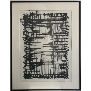 Mizrahi Fine Arts Jakob Gasteiger Ink On Paper 47 x 64cm