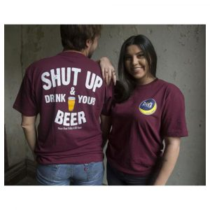 Moon River Brewing Co. Shut Up & Drink Your Beer T-Shirt