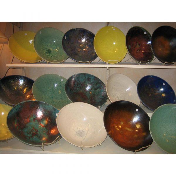 Shadyside Pottery Raku Bowls