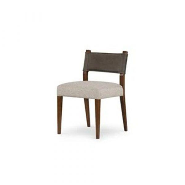 24 E Design Co. David Dining Chair - Nubuck Charcoal