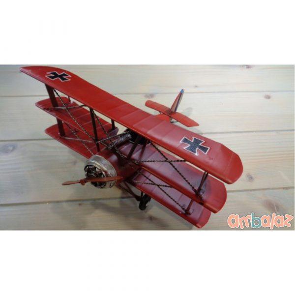 Ambalaz Antique Red Metallic Plane
