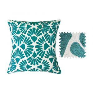 Anokhi Fans Design Crewel Work Cushion Covers