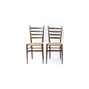 Antony Todd Style Of Gio Ponti Dinning Chairs Set Of 4