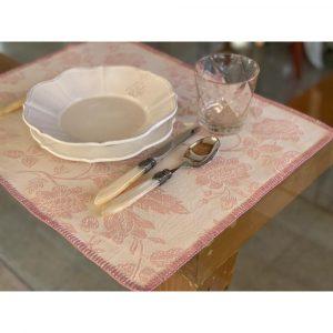 """Busatti Venezia- Place Mat With """"Punto Siena"""" Lace"""