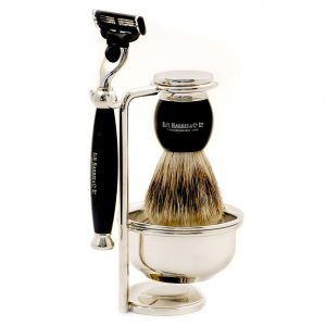 D.R. Harris & Co. 4 – Piece Shaving Set – Ebony
