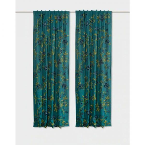 Fabindia Tahira Cotton Embroidered Curtain