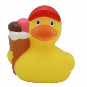 Florence Duck Store Ice Cream Rubber Duck