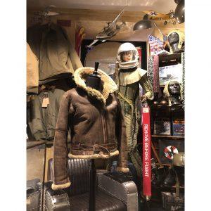 Gasoline Alley Original WWII RAF Irvin Aviator Jacket 1945