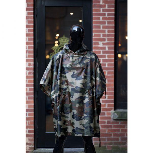 Harlem Haberdashery Camouflage Poncho