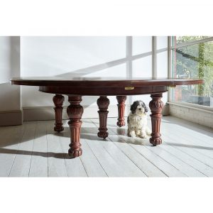 Howe Early Victorian Mahogany Expanding Dining Table By Johnstone & Jeanes