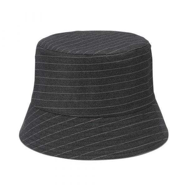 Kokoro Pinstripe Bucket Hat