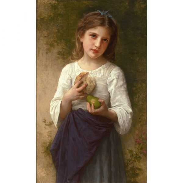 M.S. Rau Antiques The Frugal Meal By William-Adolphe Bouguereau