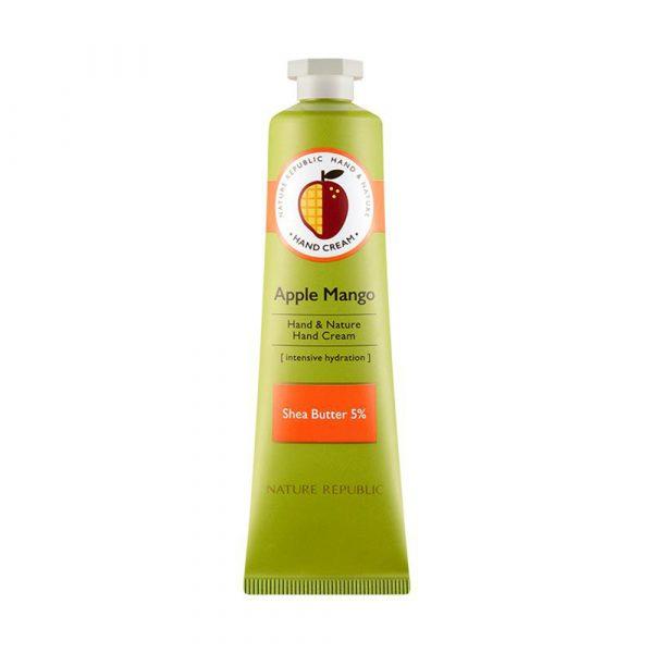 Nature Republic Hand & Nature Hand Cream - Apple Mango