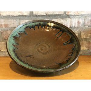 Potsalot Pottery Dragon Combo Deep Platter