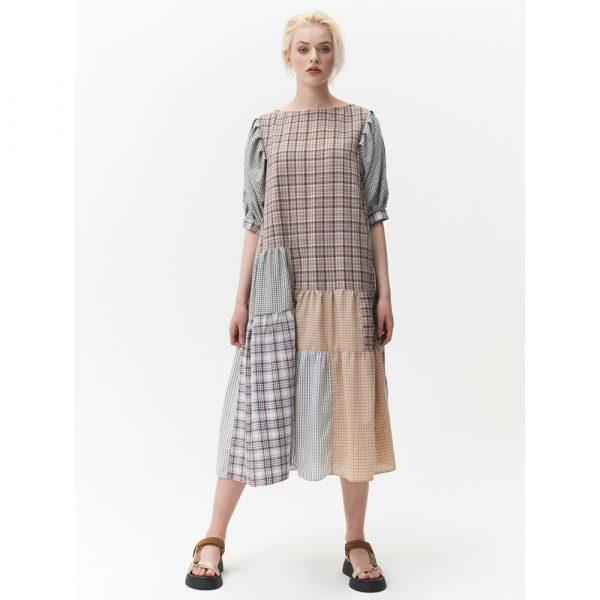 Printa Upcycled Ruffled Dress