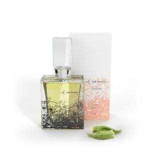 Red Flower 15ml Ambrette Organic Perfume