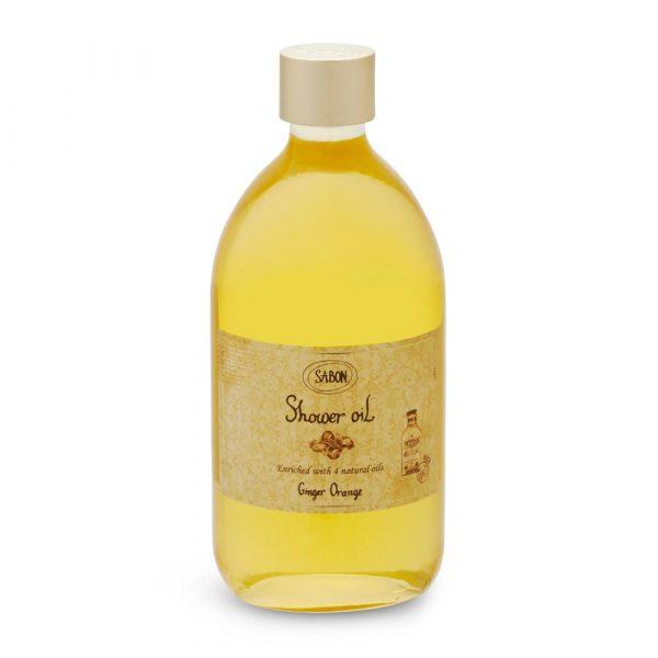 Sabon Shower Oil Ginger Orange