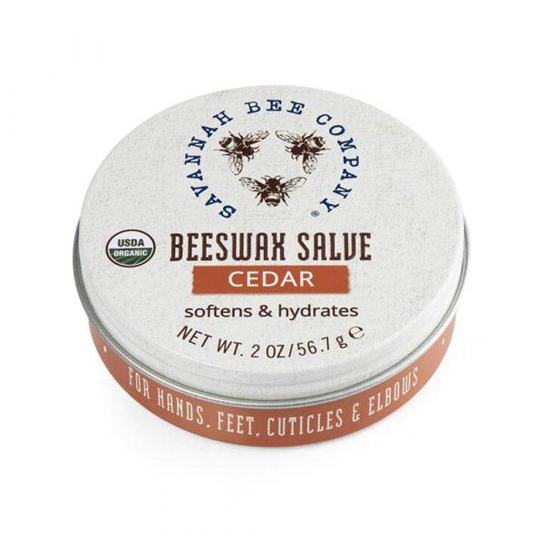 Savannah Bee Company Cedar Beeswax Salve