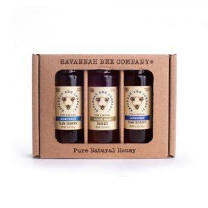 Savannah Bee Company The Buzz Honey Trio Gift Set