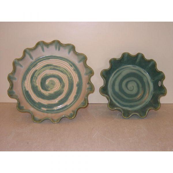 Shadyside Pottery Stoneware Cobbler Dishes
