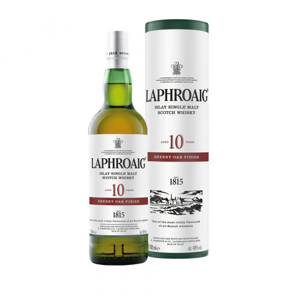 The Whisky Shop Laphroaig 10 Year Old Sherry Oak Finish