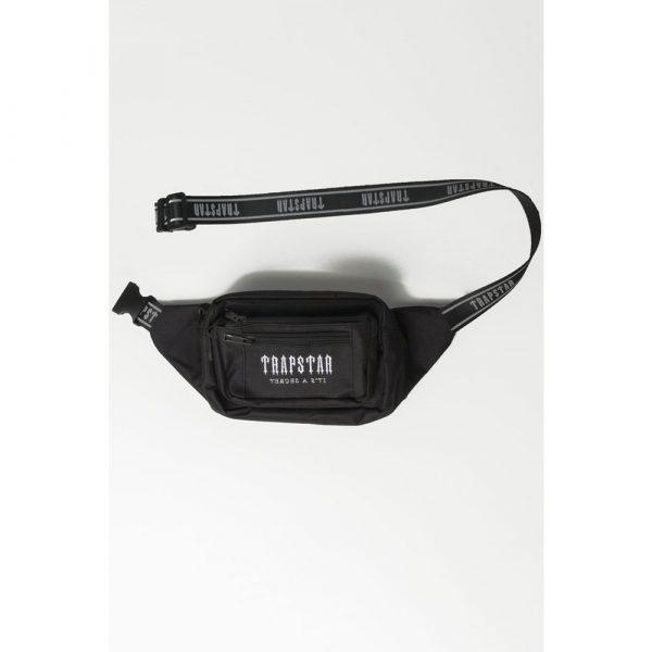 Trapstar Decoded Belt Bag Black