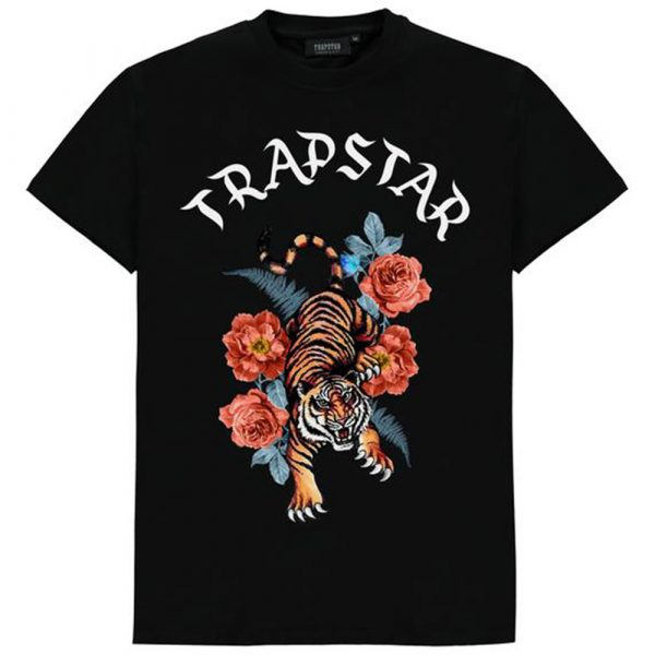 Trapstar Tora Tee - Black