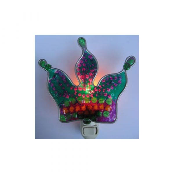 UP/Unique Products Mardi Gras Crown Nightlight