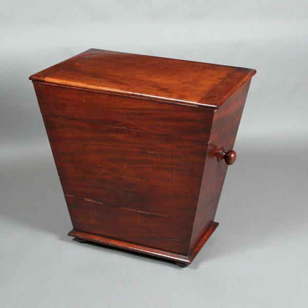 Westenholz Antiques A Georgian Log Box